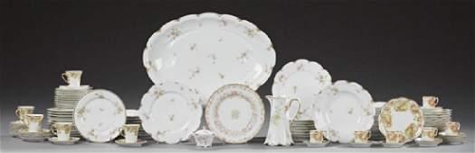 Fifty-Two Piece Set of Haviland Limoges Porcelain