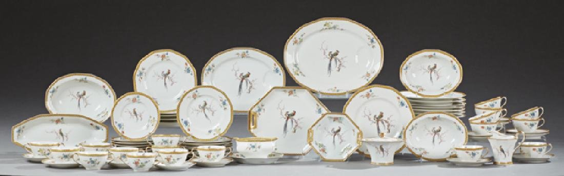 Seventy-Two Piece Set of Theodore Haviland Limoges
