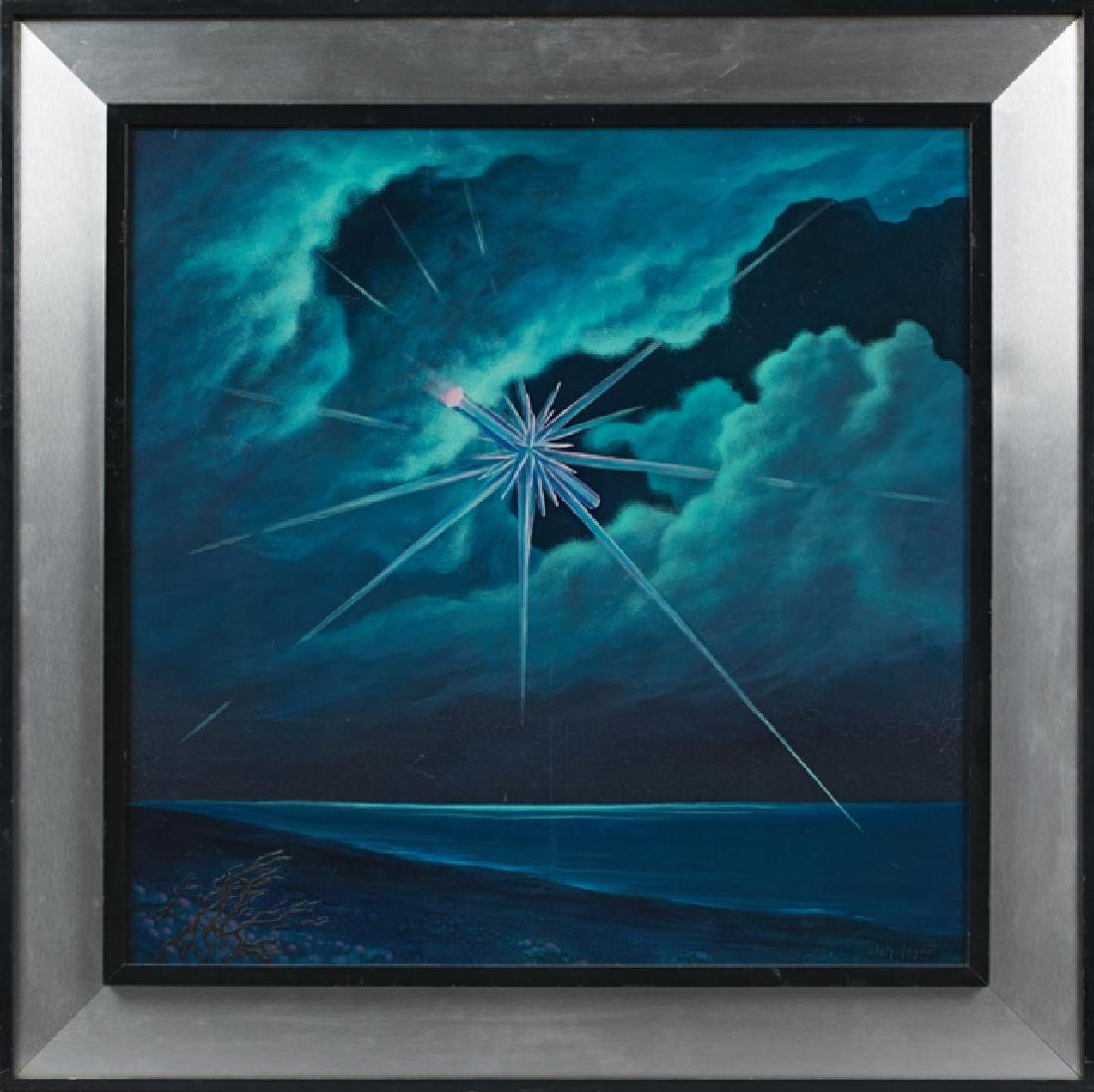 """Charles Joguet, """"Star in the Sky Over the Ocean,"""" 20th"""