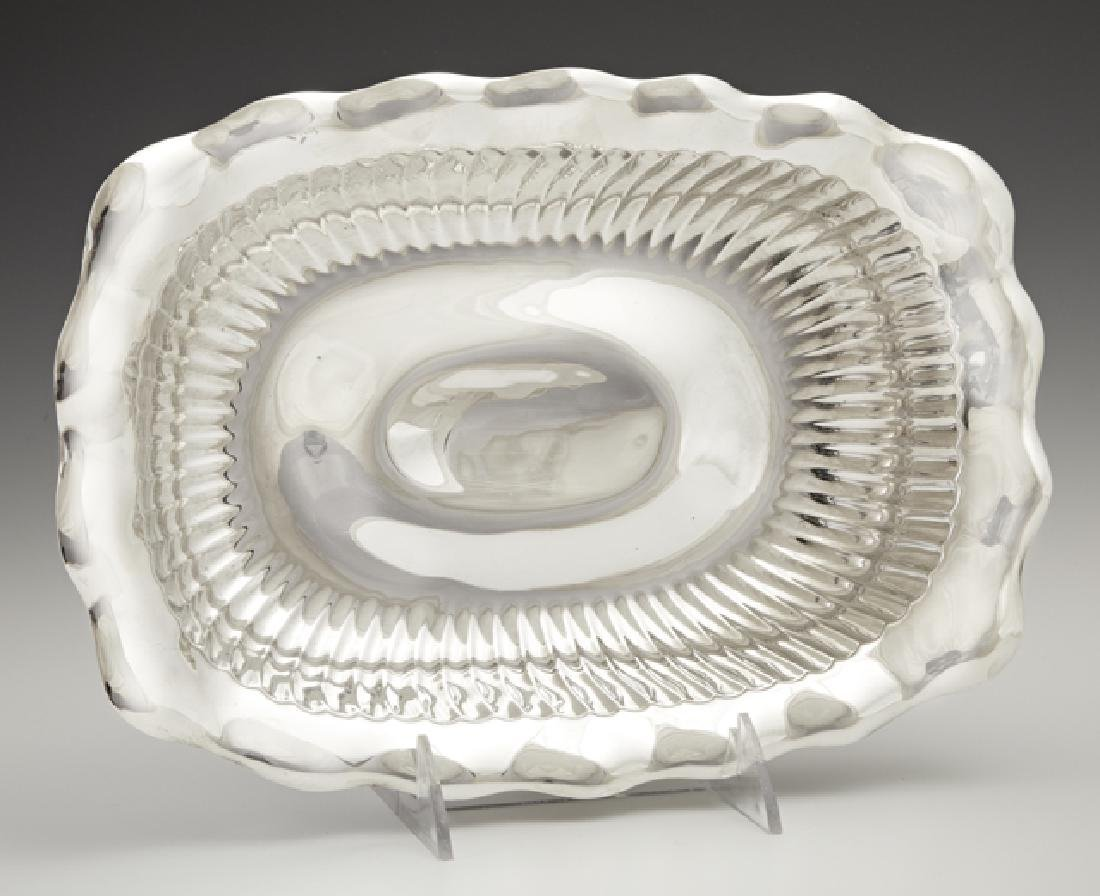 Rectangular Sterling Vegetable Bowl, early 20th c., by