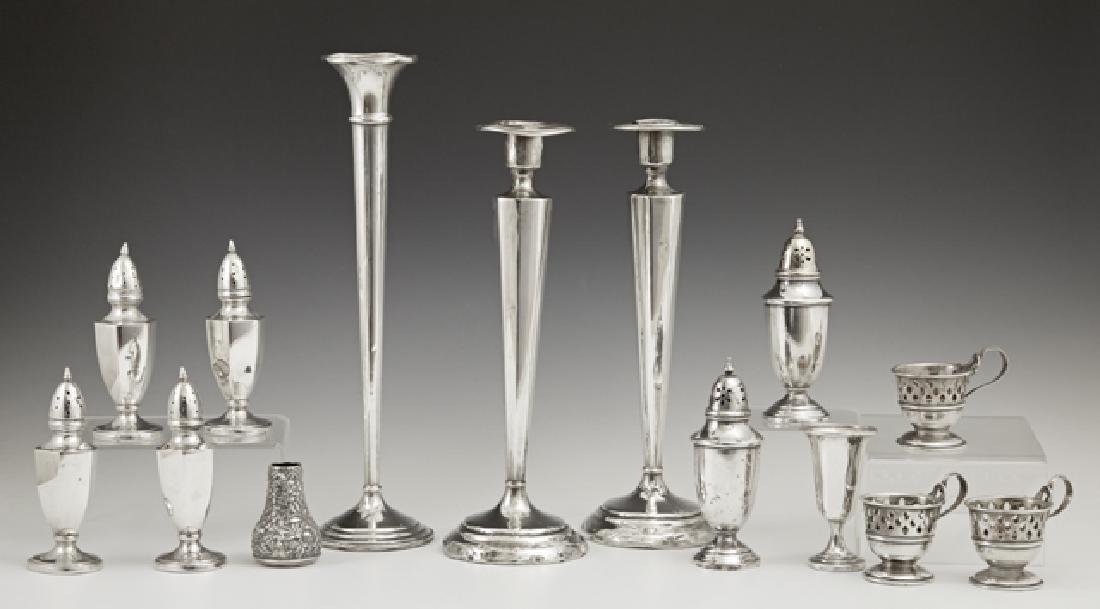 Group of Fourteen Pieces of Sterling Silver, early 20th
