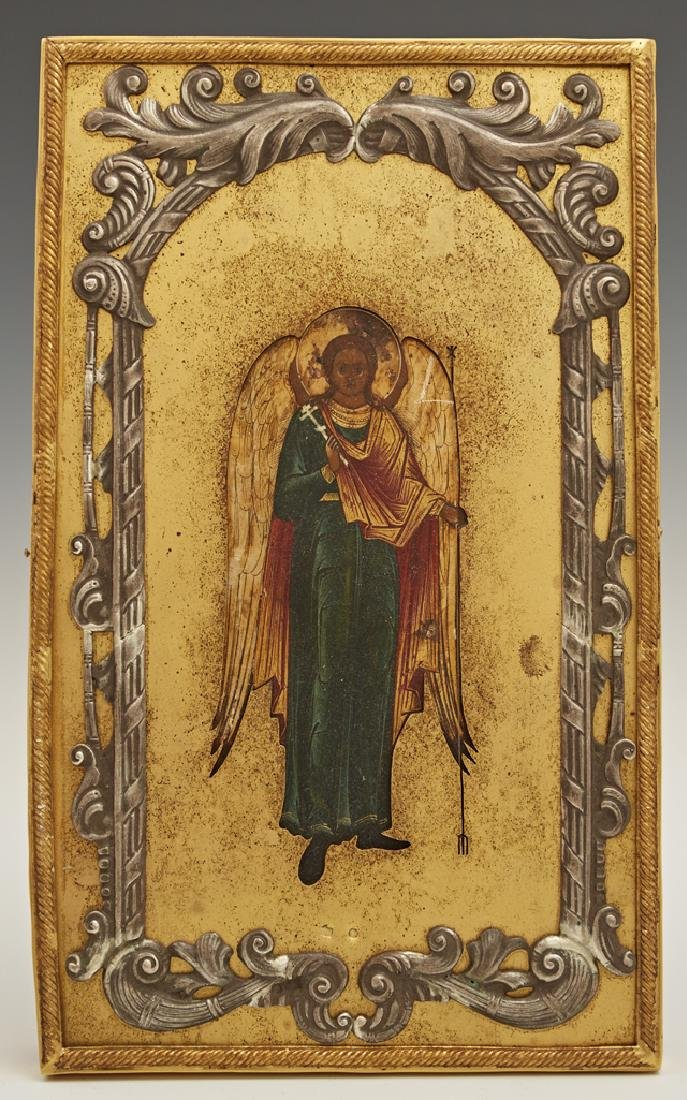 Russian Icon of a Guardian Angel, 1908-1917, Moscow,