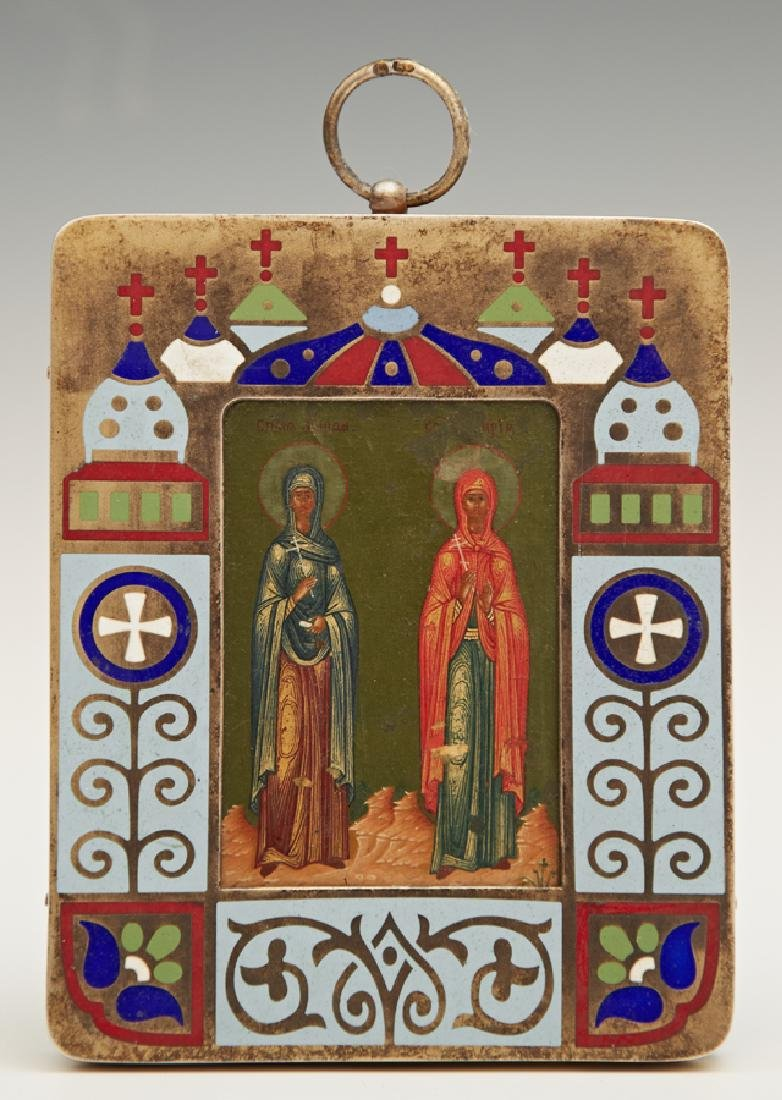 Russian Panagia of Saints Marfa and Maria, 1908-1917,