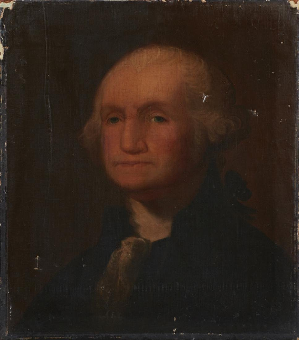 "American School, ""George Washington,"" early 19th c.,"