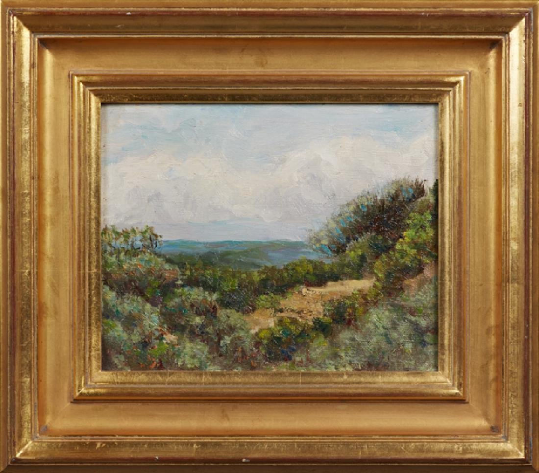 "French School, ""View from the Forest of Fontainebleau,"""