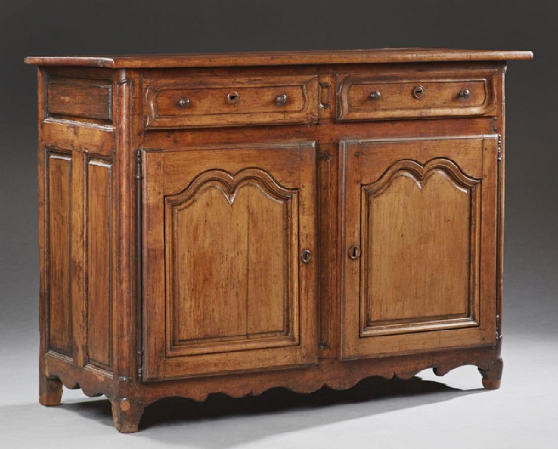 French Provincial Louis XV Style Carved Cherry