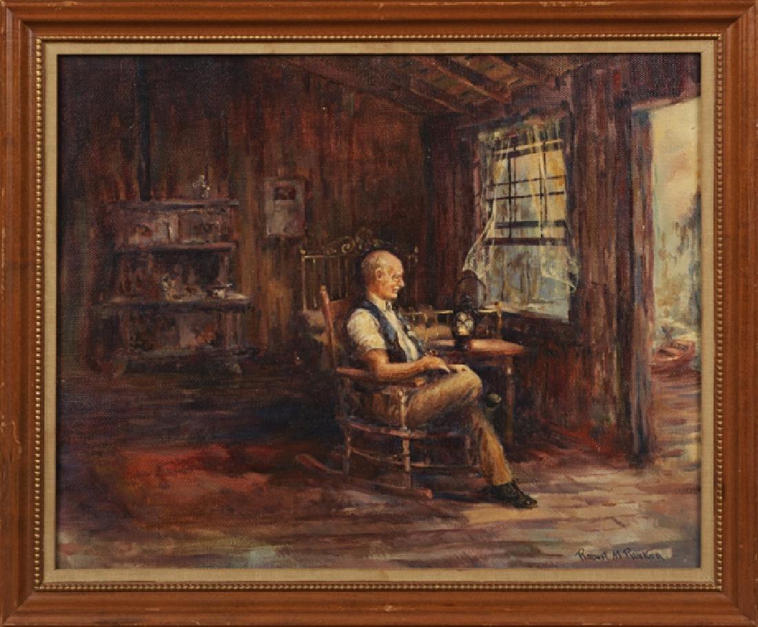 "Robert M. Rucker (1932-2000, Louisiana), ""Old Swamp"