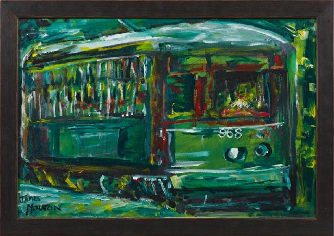 "James Mouton (1925-2011, New Orleans), ""Saint Charles"
