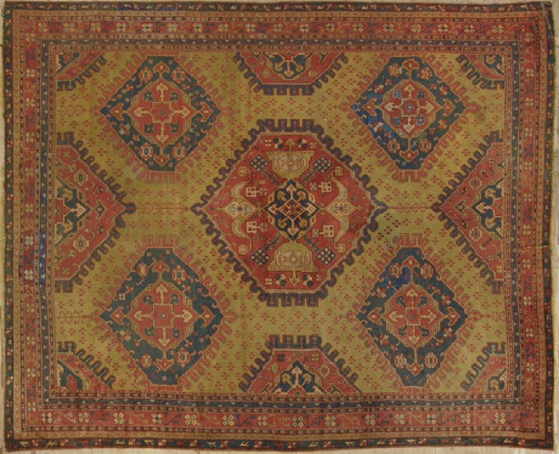 Turkish Oushak Carpet, 13' x 16' 2. Provenance: