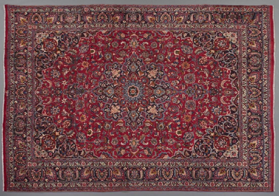 Mashad Carpet, 9' 9 x 12' 8.