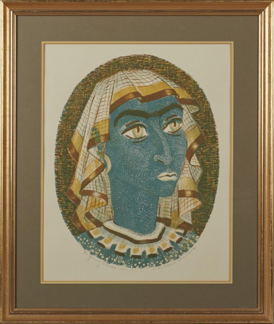 """Caroline Wogan Durieux (1896-1989, Louisiana), """"Young"""