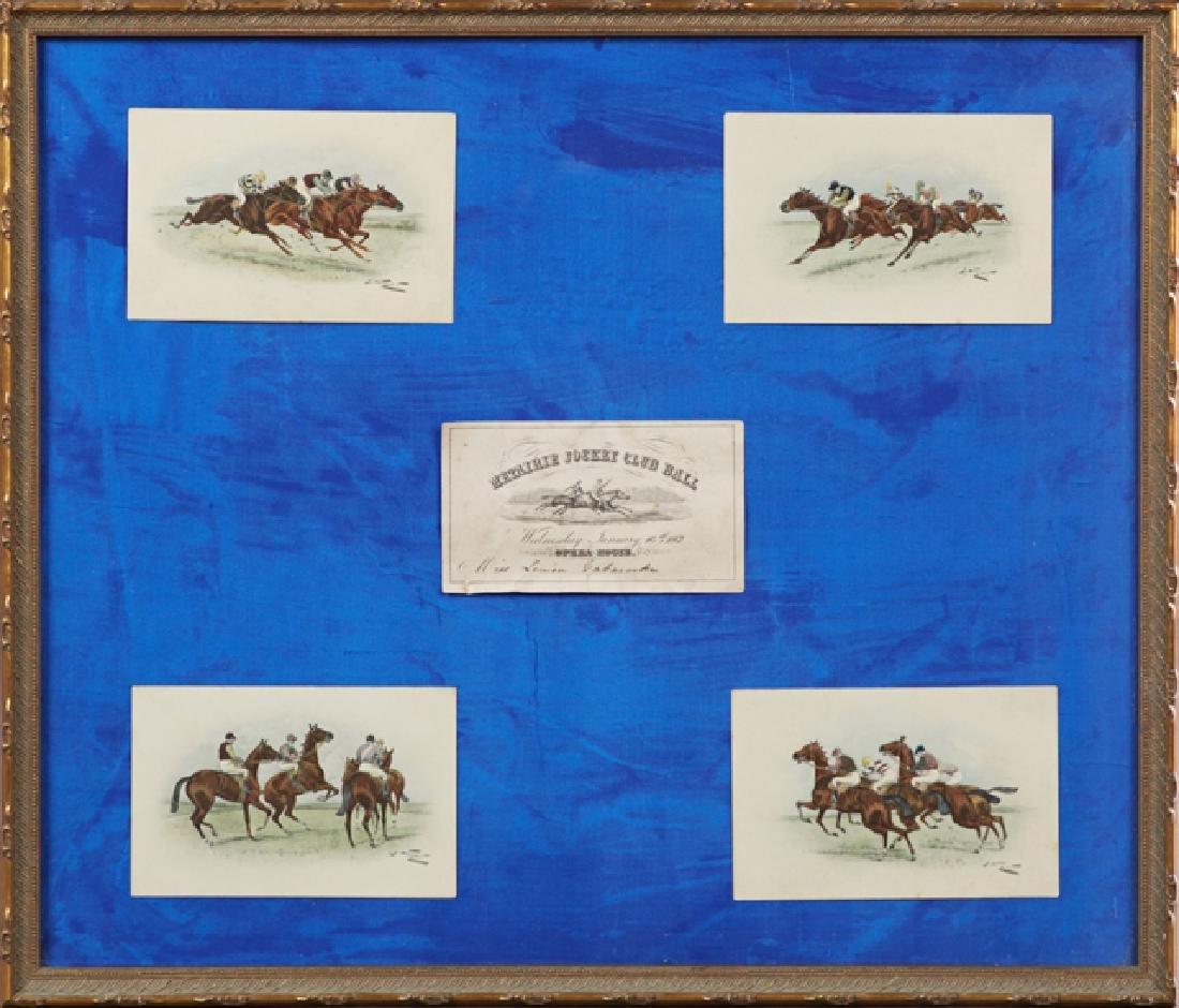 Rare Invitation to the Metairie Jockey Club Ball,