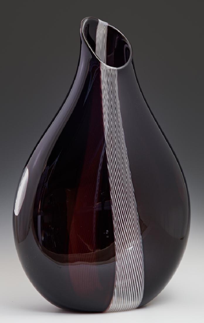 "Giampaolo Seguso (1942-, Italian),""Vase Lattimo,"" 1993,"