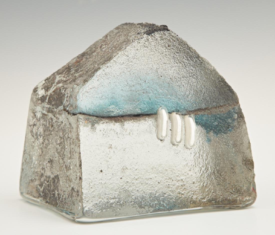 "Ewa Wawryzniak (Polish), ""House,"" 20th c., sandcast art"