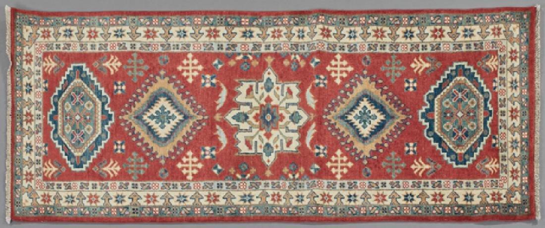 Uzbek Kazak Carpet, 2' 7 x 6.
