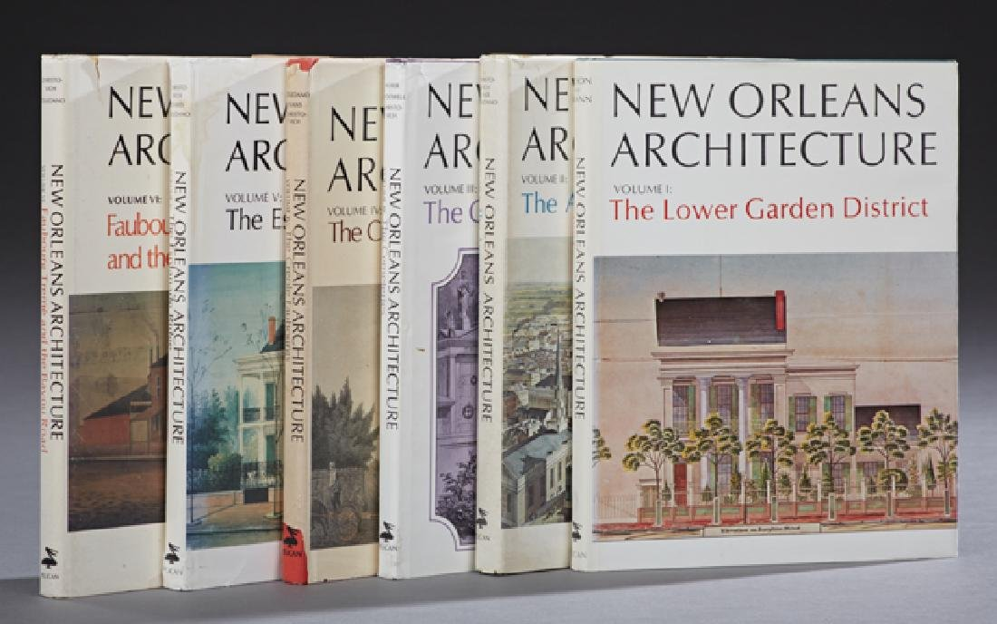 "Books-Set of Six Volumes of ""New Orleans Architecture,"""