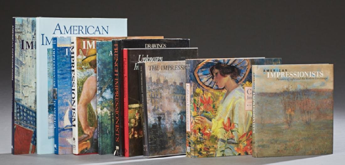 Group of Ten Books on Impressionism, consisting of