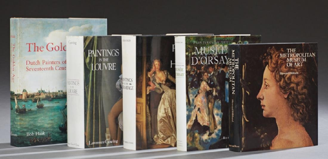 "Group of Five Museum Art Books, consisting of ""The"
