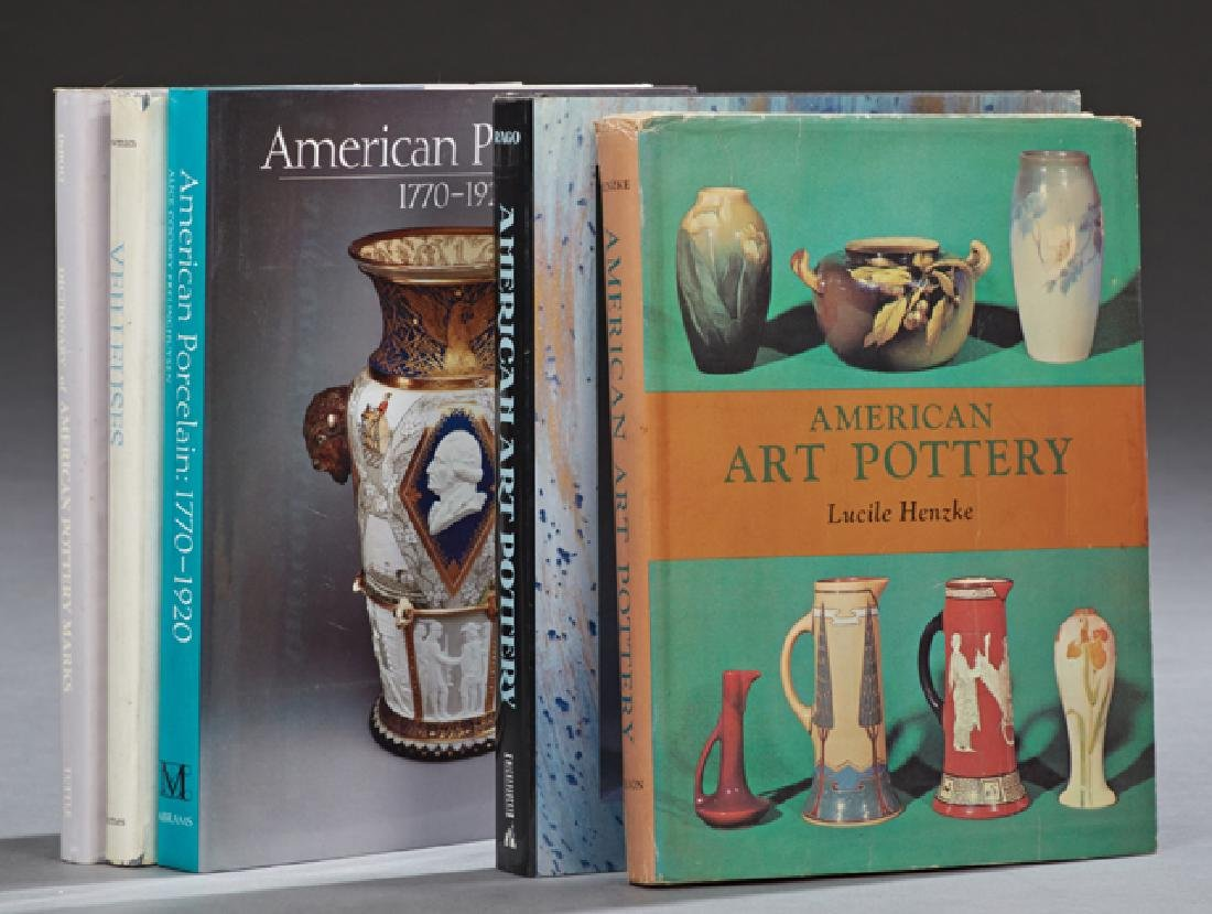 "Group of Five Pottery Books, consisting of ""Veilleuses"""