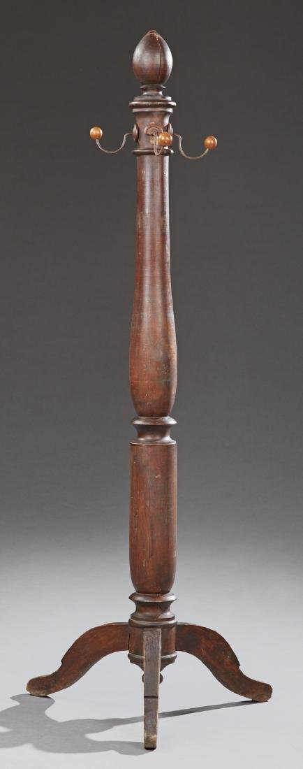 French Louis XIII Style Carved Cherry Costine, 19th c.,