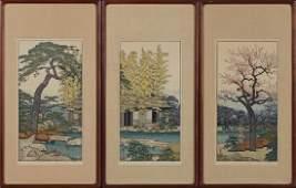 "Toshi Yoshida, ""Plum Tree of the Friendly Garden,"""