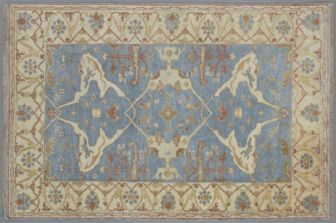 Turkish Angora Oushak 6 x 8' 9