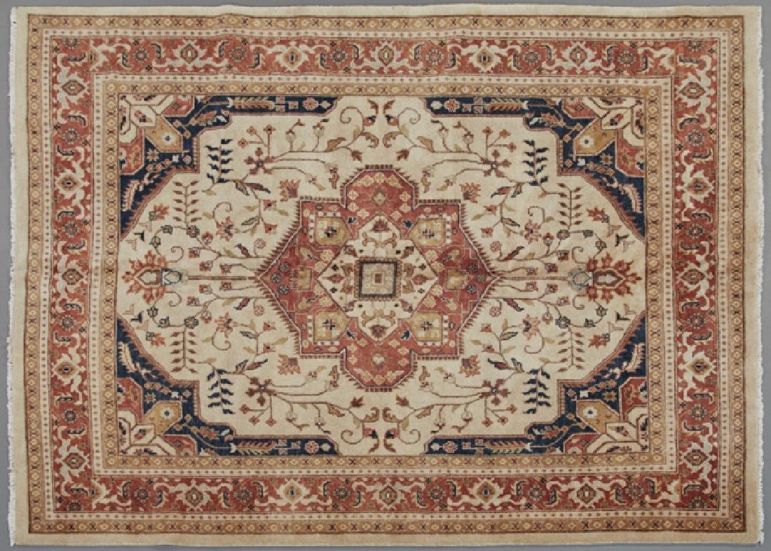 Agra Serapi Carpet, 7' 10 x 10' 3.