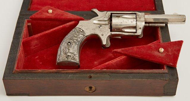 Norwich Arms Co. .32 Caliber Five Shot Revolver,