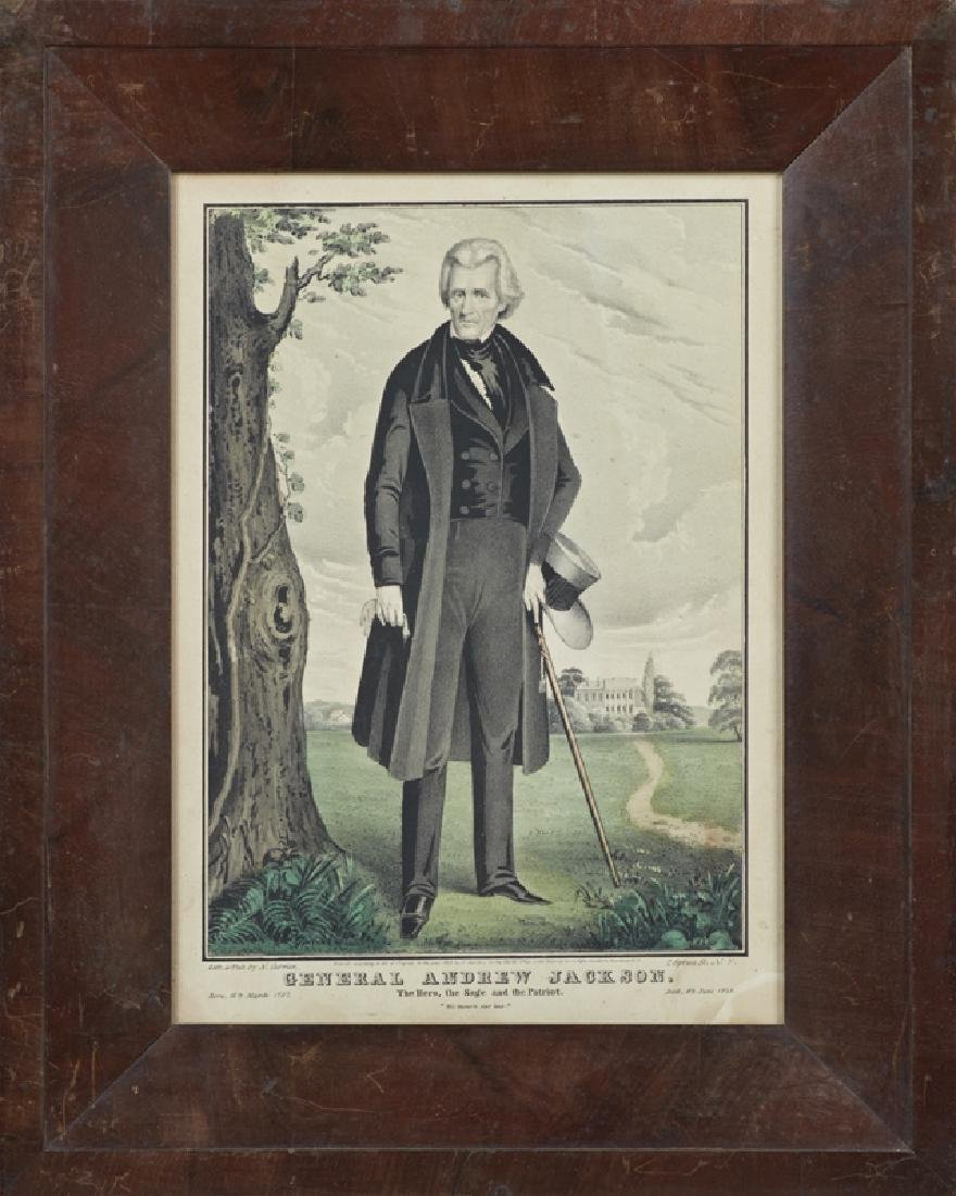 "N. Currier, ""General Andrew Jackson, The Hero, the Sage"