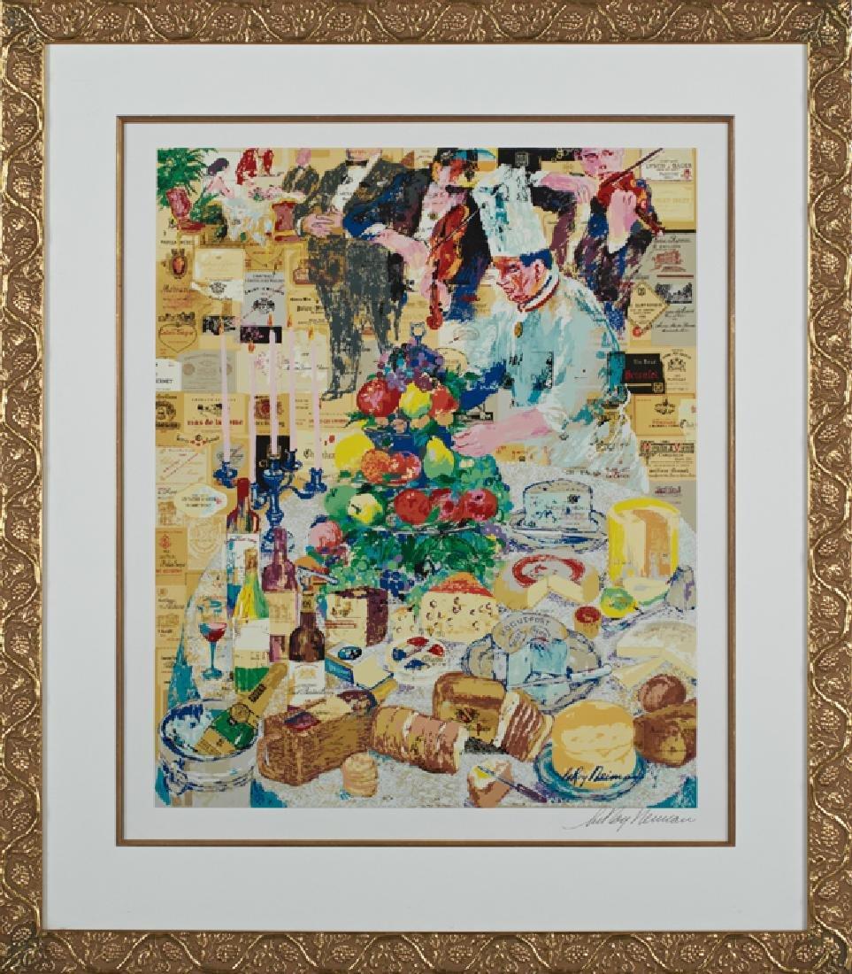 """Leroy Neiman (1921-2012), """"La Cuisine Francaise,"""""""