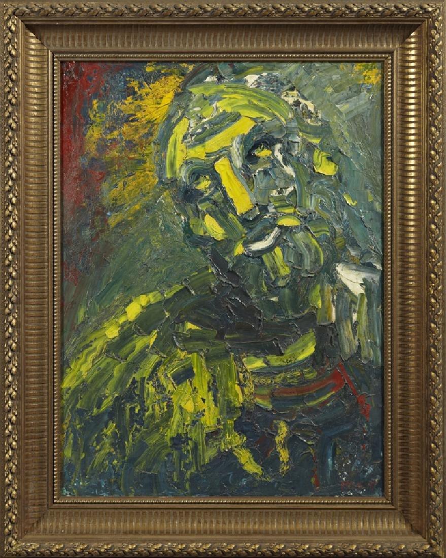 "Joachim Probst (1913-1980), ""St. Paul,"" 1953, impasto"