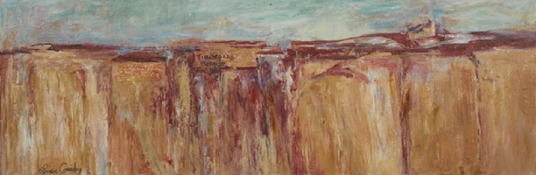 "Louise Guidry (1930-, Louisiana), ""Tibetan Spirit,"""