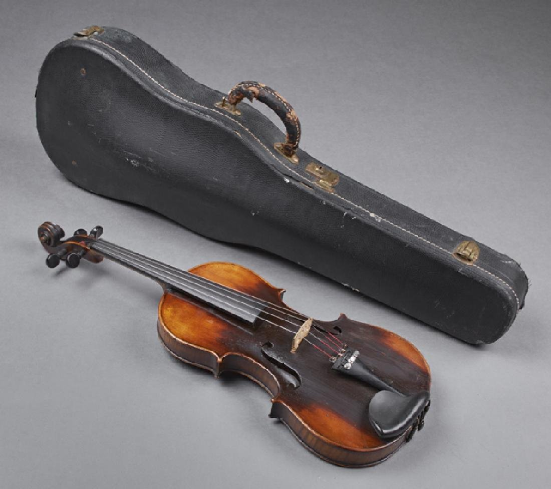 "German Violin, post 1910, with an interior label ""Copy"