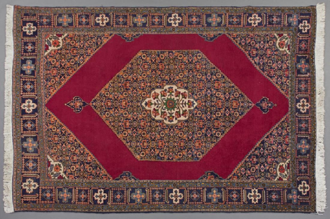 Tabriz Mahi Design Carpet, 7' 11 x 11' 1.