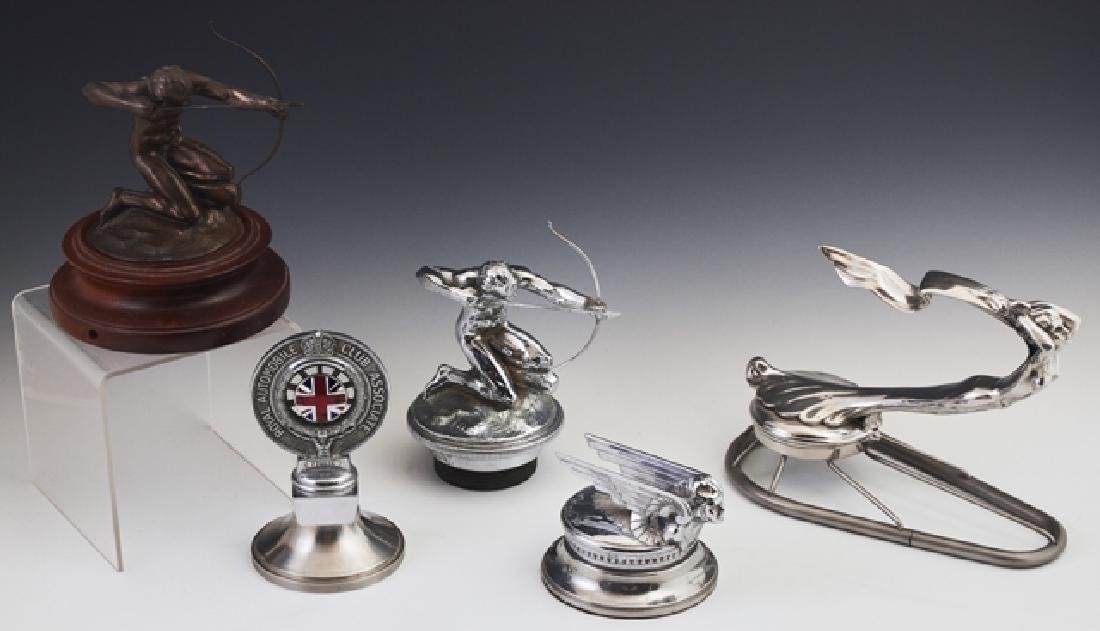 Group of Five Automotive Items, consisting of a 1929-31