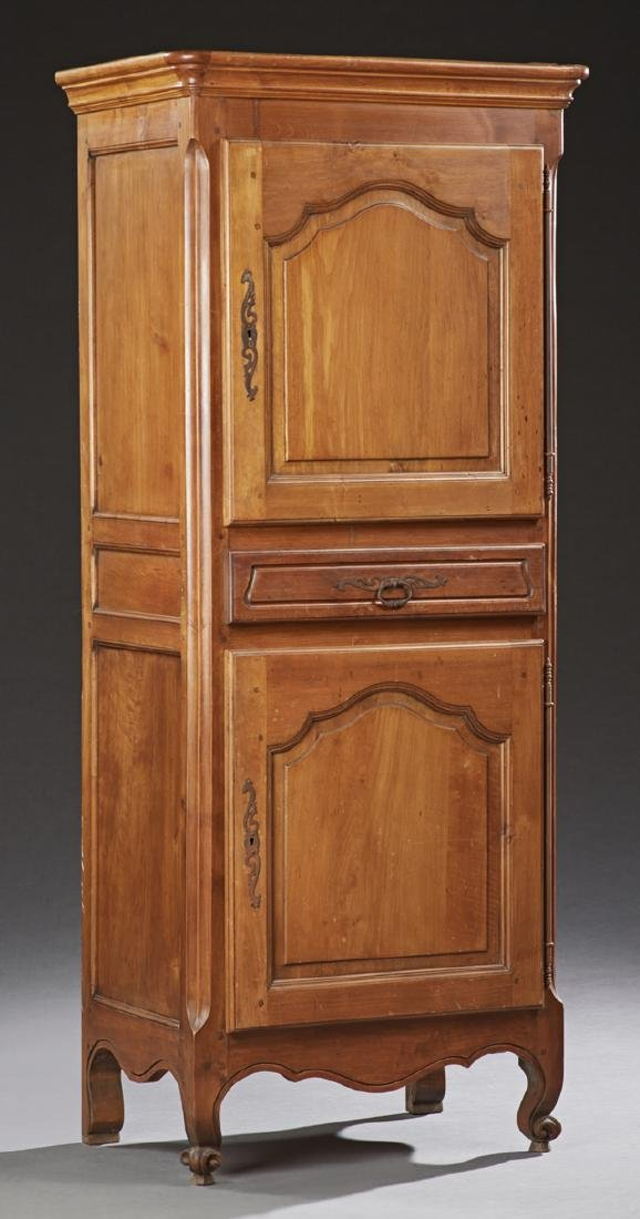 Diminutive French Provincial Carved Cherry Homme