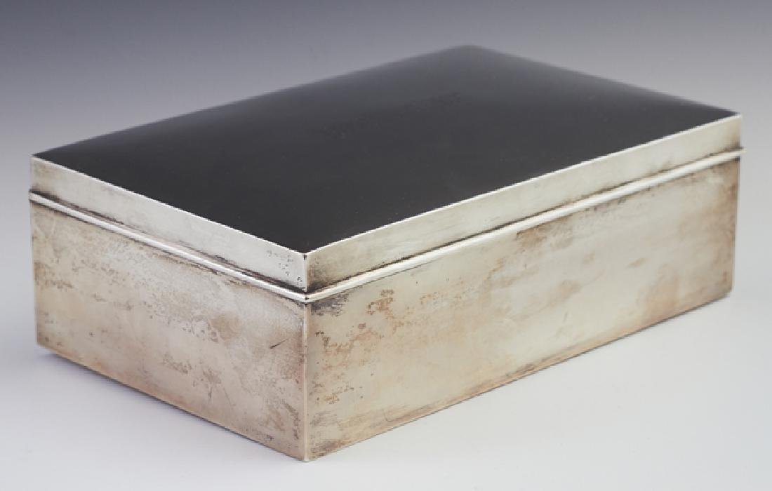 Sterling Humidor, c. 1929, by Ahrendt & Kautzman, New