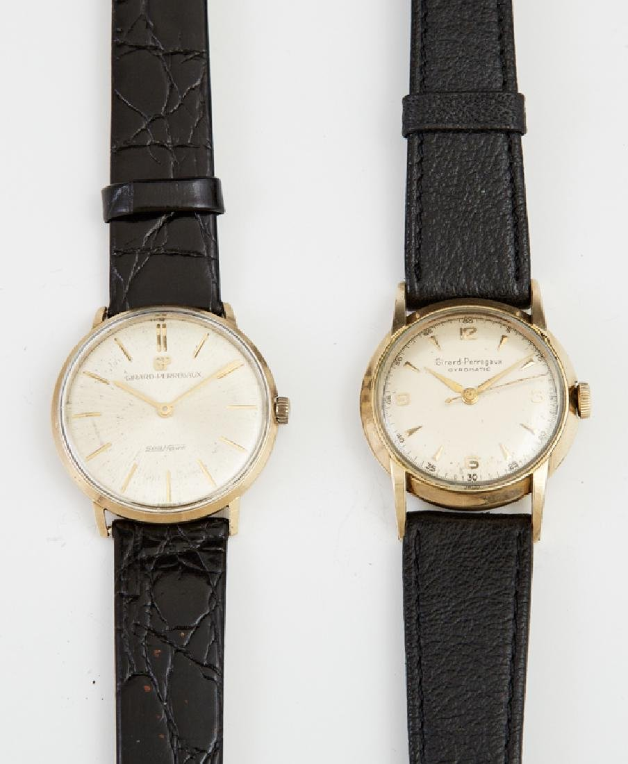 Two Man's Wristwatches, consisting of Girard Perregaux
