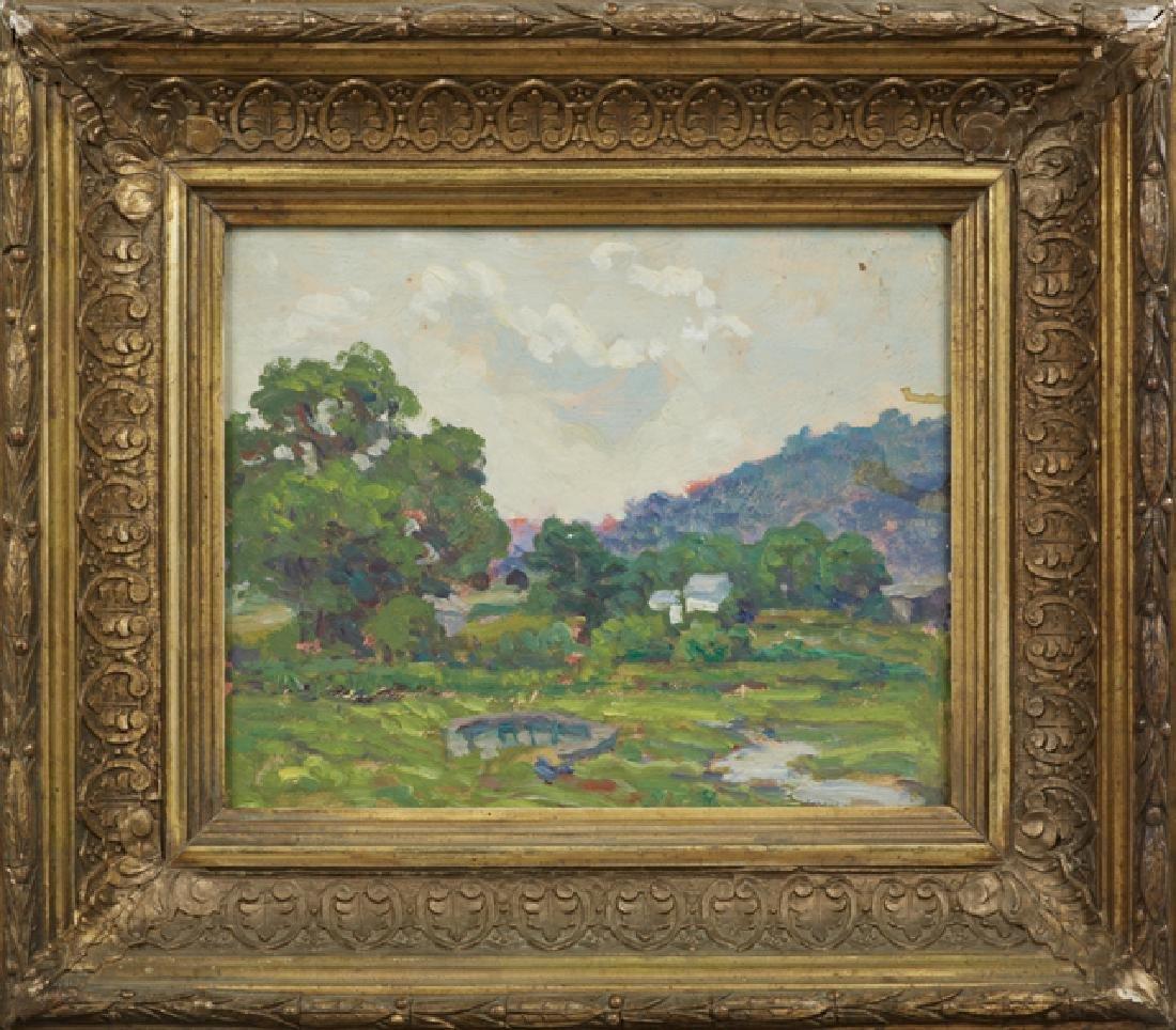 "Attr. to James McRickard (1872- ), ""Landscape,"" 20th"