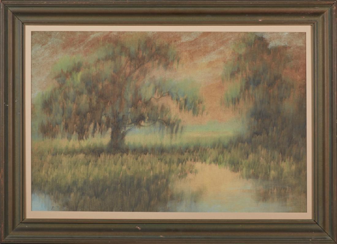 "Alexander J. Drysdale (1870-1934, New Orleans), ""Moss"