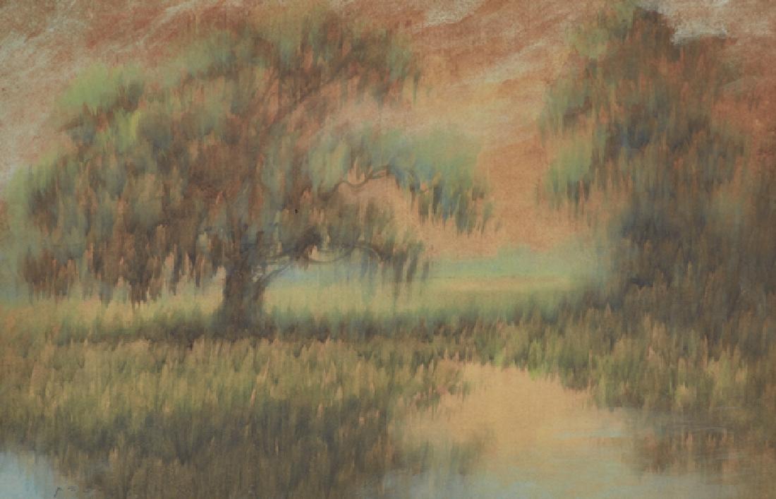 "Alexander J. Drysdale (1870-1934, New Orleans), ""Moss - 2"