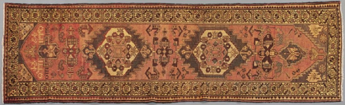 Heriz Carpet, 3' 3 x 10' 2.