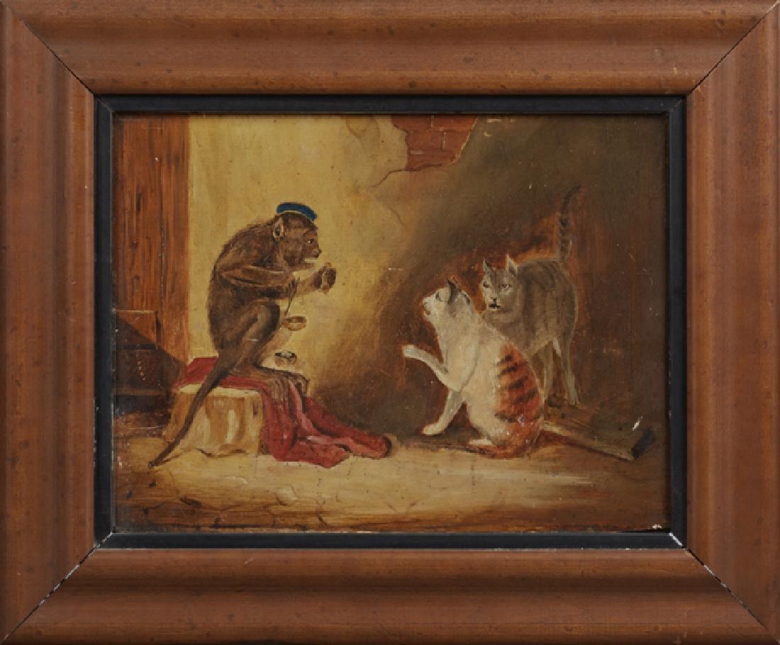 "Continental School, ""King Solomon,"" 19th c., oil on"