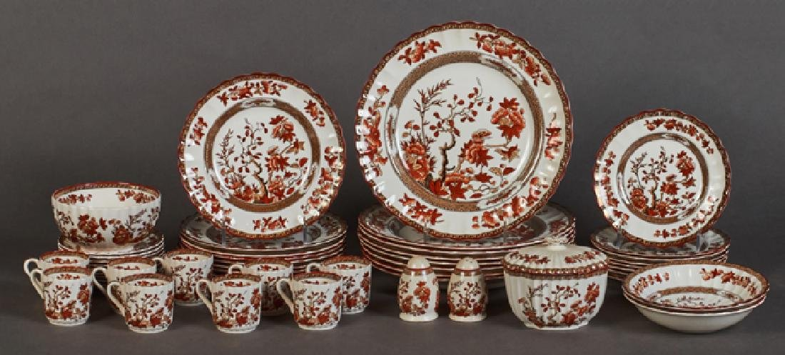 Forty-Nine Piece Set of Copeland Spode China, early