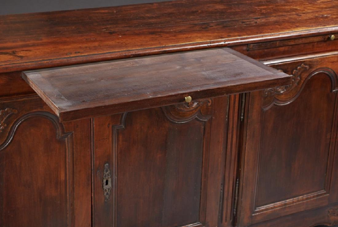 Louis XV Style Carved Cherry Sideboard, 19th c., the - 2