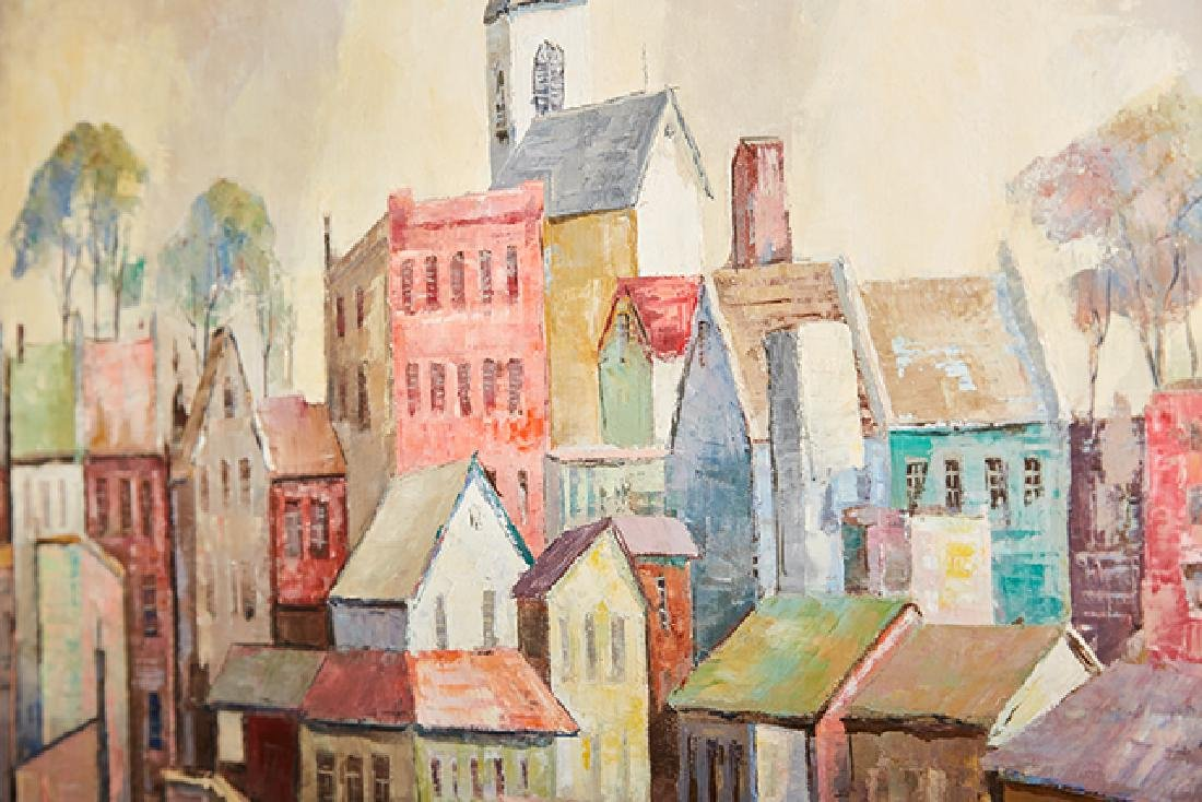 """Carl Thorp (1918-1995), """"Gloucester Waterfront,"""" 20th - 4"""