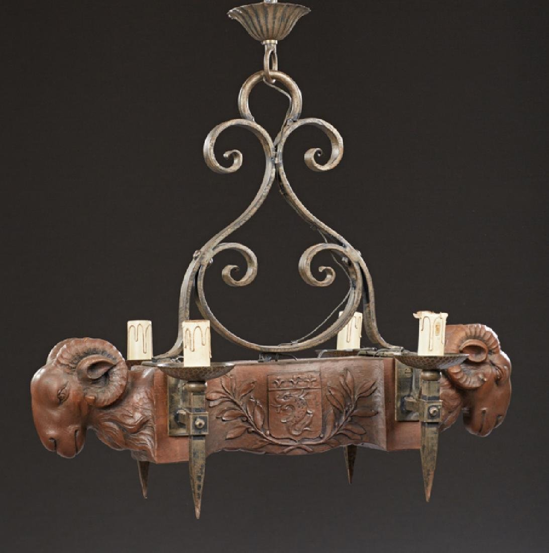 Unusual French Provincial Louis XVI Style Carved Walnut