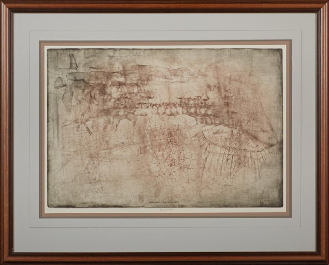 """Jiri Anderle (1936-), """"Leonardo and Isabella,"""""""
