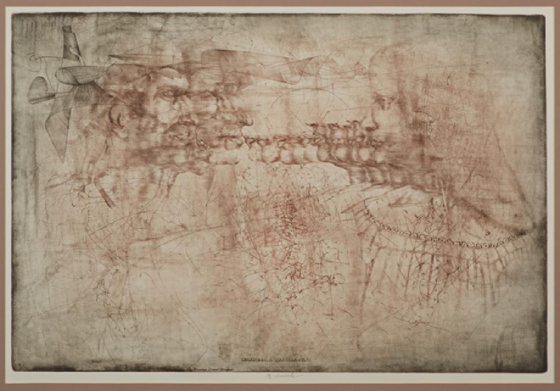 """Jiri Anderle (1936-), """"Leonardo and Isabella,"""" - 2"""