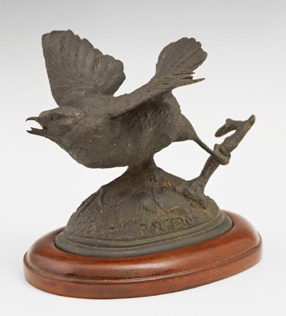 "Ferdinand Pautrot (1832-1874, French), ""Startled Bird"